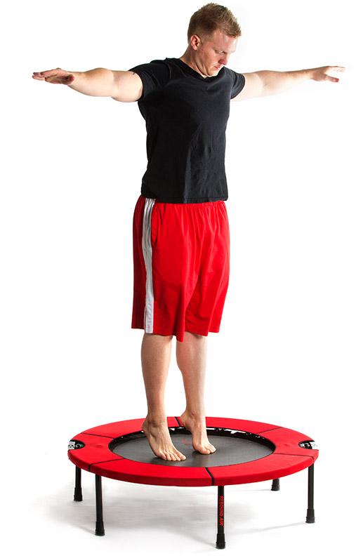 Rebounder Excercising